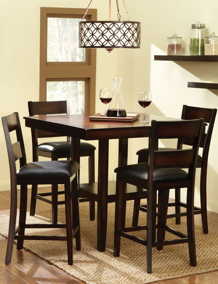 Pendleton Gathering Table 4 Stools This Dining Collection Is Inspired By Casual Transitional Styling Vans Black FridayBlack