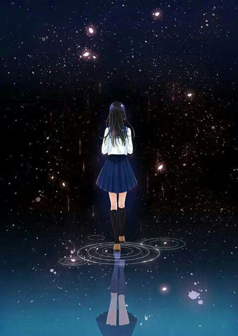 Anime Sad Alone Girl Images Otaku Wallpaper