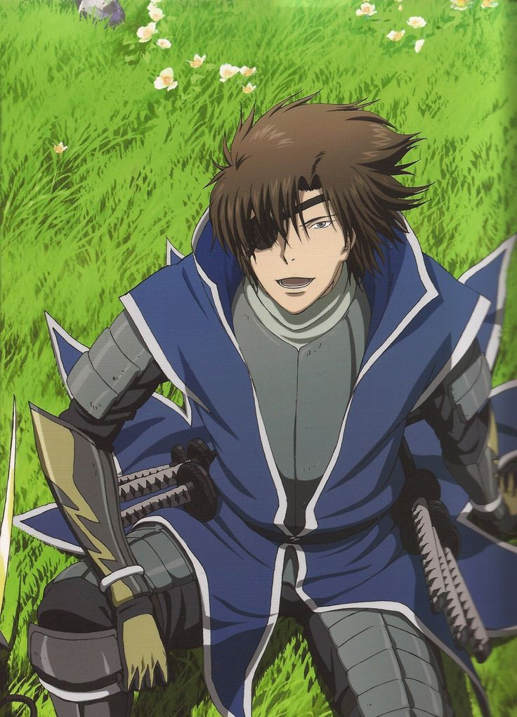 Date Masamune Sengoku Basara Sengoku basara, Anime