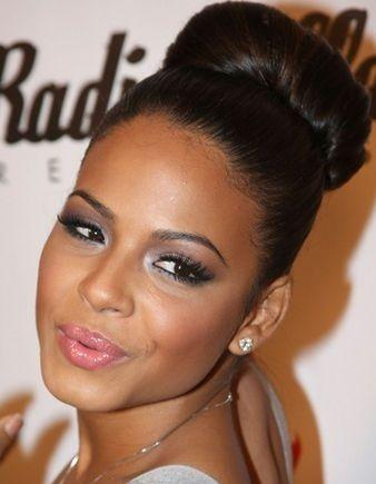 Astounding 1000 Images About Flawless Hair Buns Amp Updo39S On Pinterest Short Hairstyles For Black Women Fulllsitofus