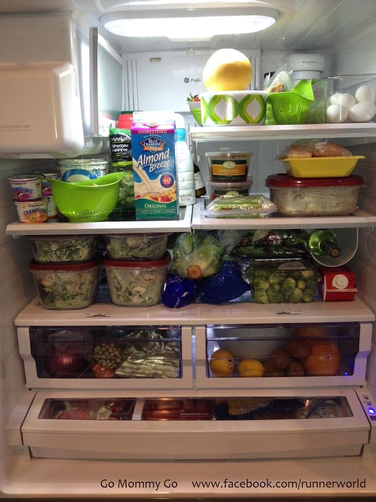 Organized Healthy Fridge with Wine :) | Healthy Recipes ... Organized Refrigerator Healthy