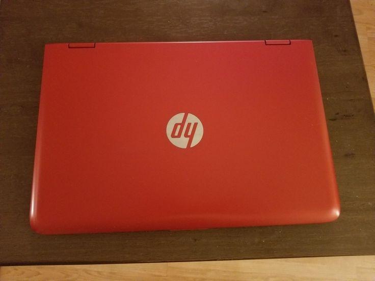 "HP Pavilion x360 13"" Touchscreen Convertible Red i5 5th Gen. 500 GB HD 6 GB RAM"