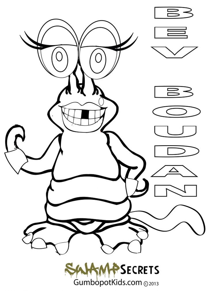 bayou coloring pages - photo#5