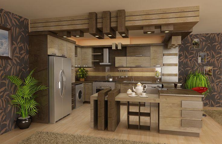 شرکت طراحان رویای سپید طراحی آشپزخانه 1 انواع مدلهای