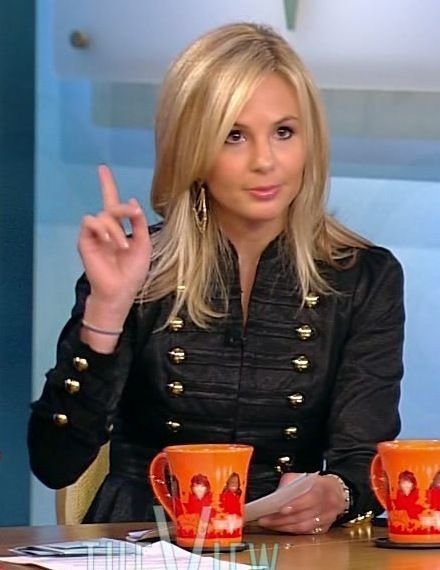 elisabeth hasselbeck on the view - o jeez | My Style ...