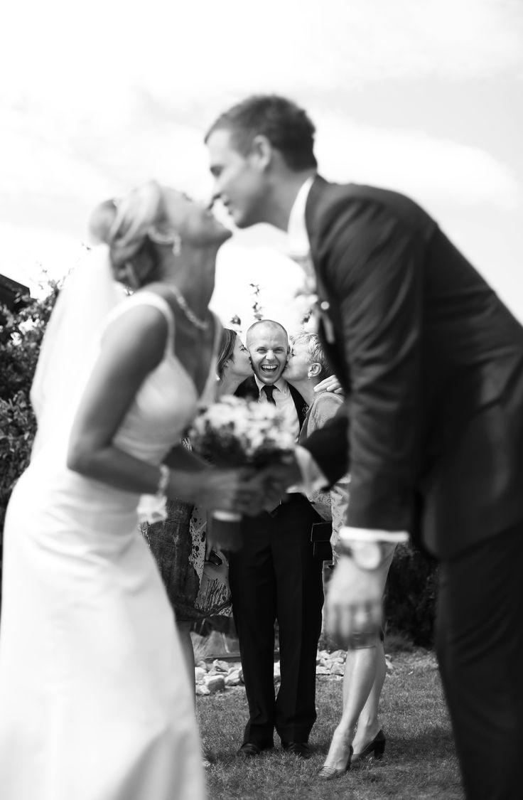 wedding guests having fun :)