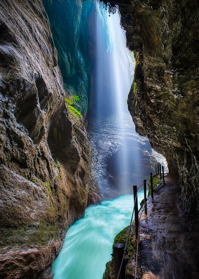 Partnach Gorge, Germany | Travel | Pinterest | Summer ...