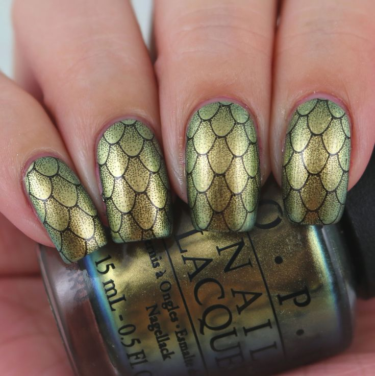 The Digit-al Dozen Does Mythical Creatures - Day One by Olivia Jade Nails