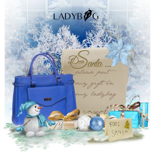Santa leaves all the nice gifts in LADYBAG. Forget the socks this year :)