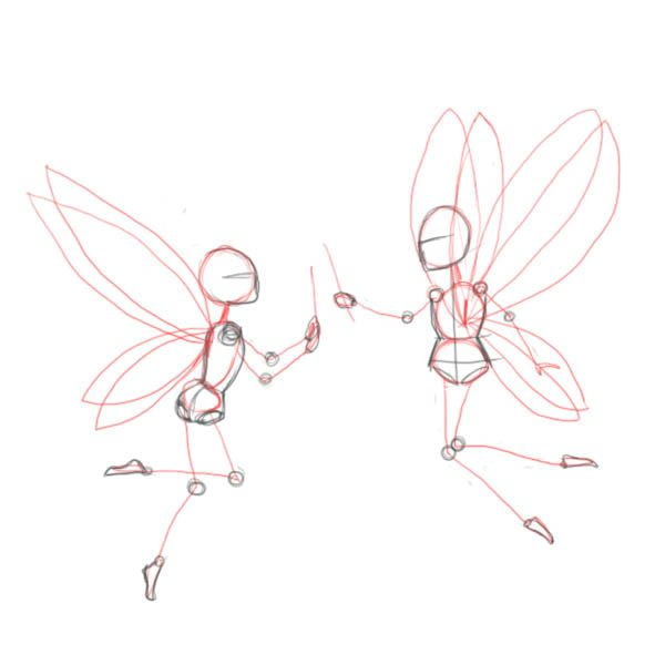 Best 25 fairy drawings ideas on pinterest drawings of for How to draw a cartoon fairy