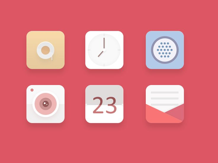 Icons by crystal