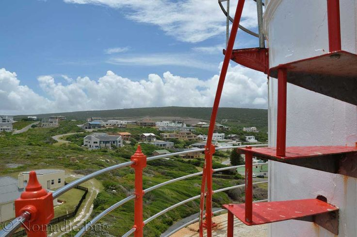 Stairway to heaven, The Arniston Lighthouse,  Cape Agulhas, South Africa  Landmarks Nomadic Existence