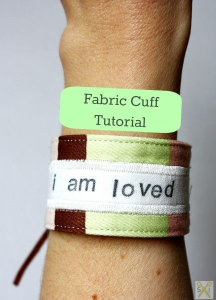 how to make bracelet out of sewing cotton