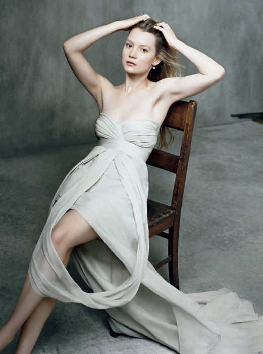 Mia Wasikowska. Ever seen 'In Treatment'? You should. She's fantastic in it.