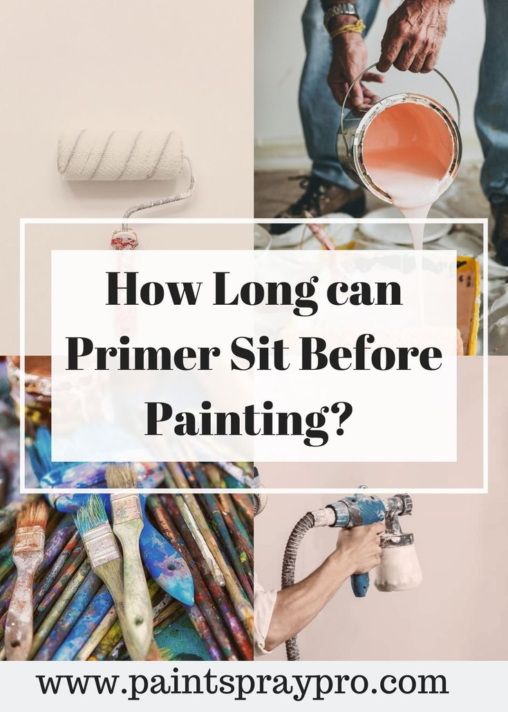 How Long Does it Take Primer to Dry? in 2020 Paint