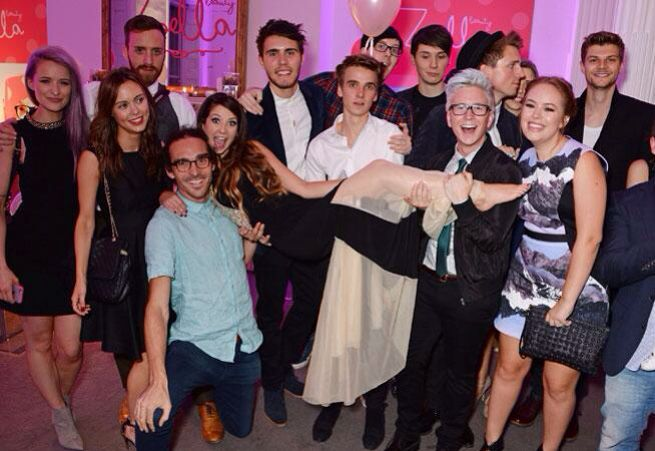 youtubers at zoellabeauty