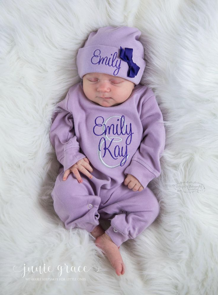 Baby its cold outside! Keep your lil one warm and cozy with our romper and hat 2 piece romper sets. Also available in pink and mint options!  https://www.etsy.com/listing/575118742/newborn-girl-coming-home-outfit-newborn?ref=listing-shop-header-0