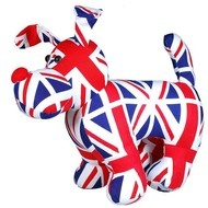 Union Jack Dog Door Stop