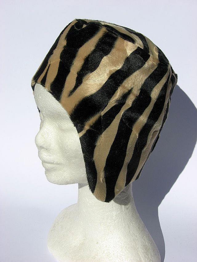 Berretto cappello aviatore donna leopardo : Cappelli, berretti di janecolori