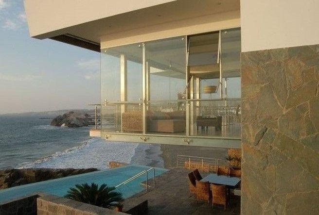 Interior with overlooking ocean