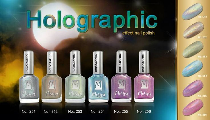 Holographic Nail Varnishes are available Susan's Nails. Grab yours today at an amazing price 12 ml/ £3.50