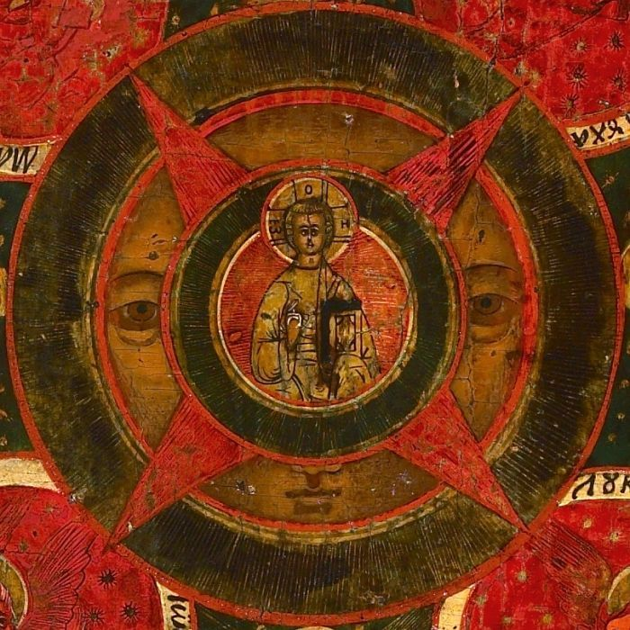 X047. The All-Seeing Eye of God Образ Господень