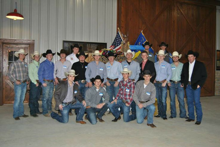 The Rodeo Team waited tables!