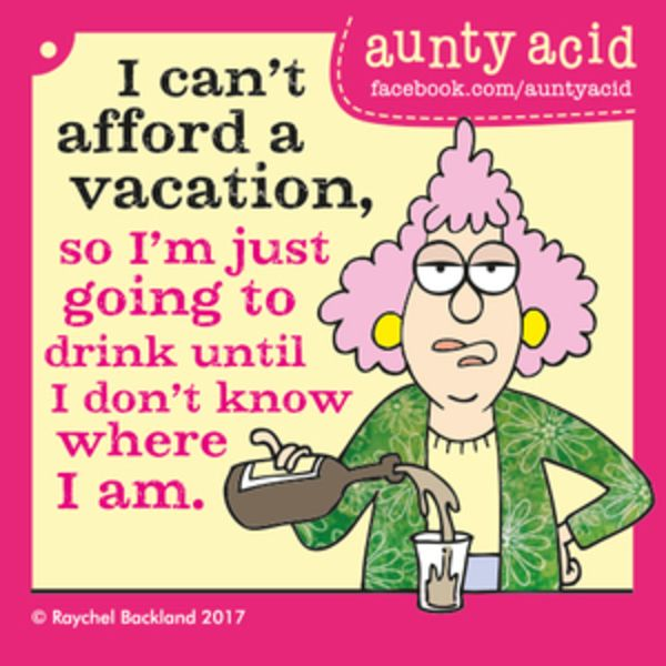 Aunty Acid for 5/20/2017