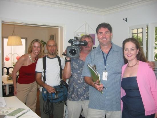 Lori Dennis Filming For HGTV Designers Challenge Interior Design Show