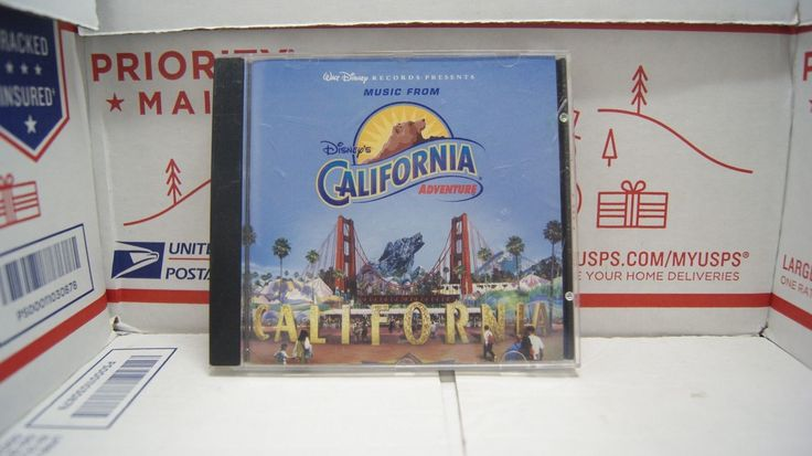 Disneys Soarin Over CALIFORNIA ADVENTURE Rare Soundtrack CD JERRY GOLDSMITH