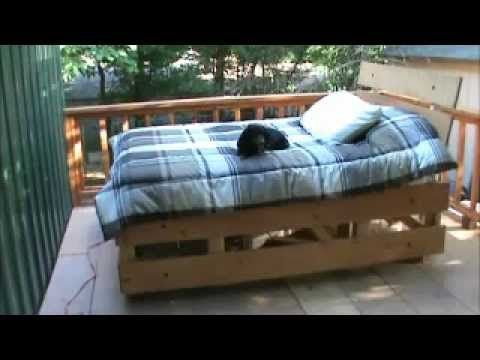 I'm one of those people who need some kind of motion to fall asleep. There didn't seem to be any motion beds available that don't hang from the ceiling and t...