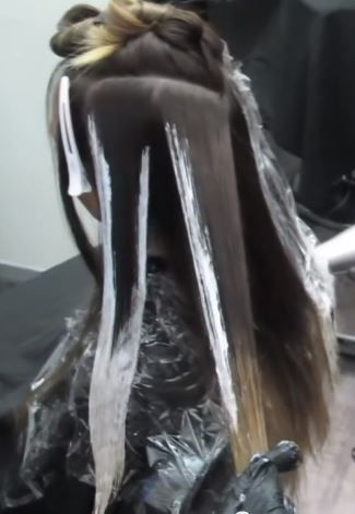 how we do the balayage technique