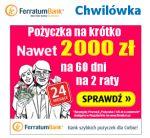 Pożyczka Ferratum Bank określana przez tę firmę jako