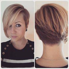 Smaakvolle korte kapsels voor dames met een fijn haar! - Kapsels voor haar