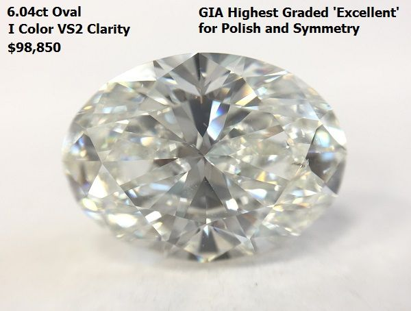GIA Certified.  AVAILABLE from NYC Wholesale Diamonds (212)719-2214