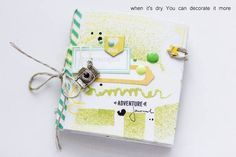 Tuto pour faire ce journal de voyage: http://kitsdesomni.typepad.com/kits_de_somni/2014/07/travel-journal-con-mira.html
