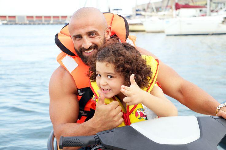 Jet Ski con papá en Barcelona