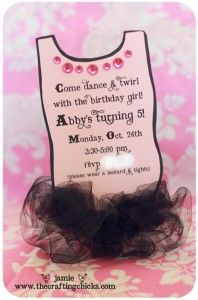 So sweet !!: Theme Birthday Parties, Ballet Parties, Ballerinas Birthday, Birthday Invitations, Baby Girls, Parties Ideas, Tutu Parties, Parties Invitations, Ballerinas Parties