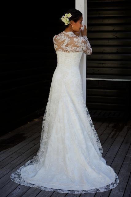 Den smukke, smukke Sarah i den ligeså smukke kjole <3