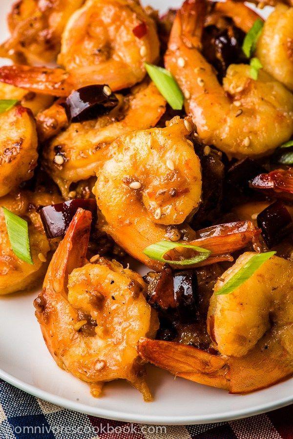 Sichuan Spicy Shrimp Stir Fry