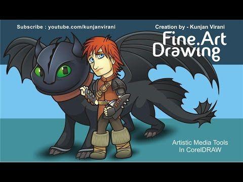 Creative Fine art Design work in CorelDRAW