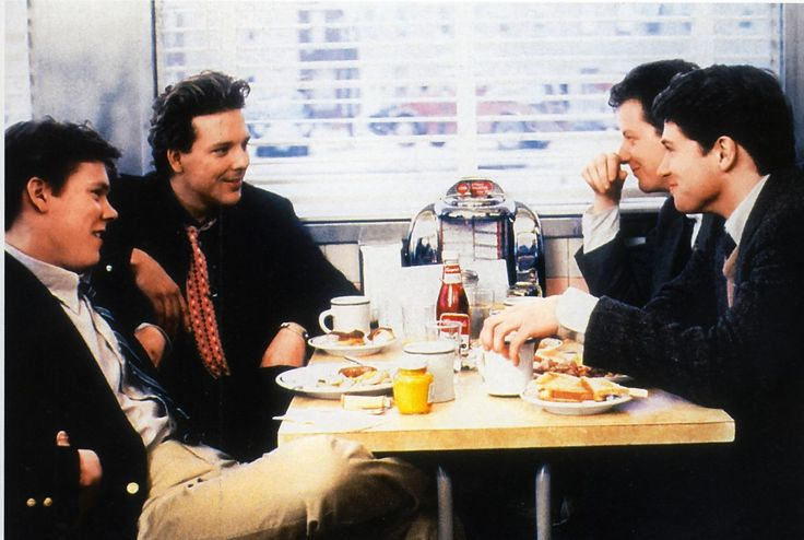 diner, kevin bacon & mickey rourke, 1982