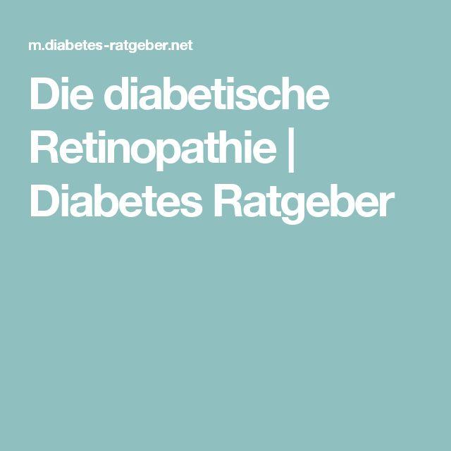 Die diabetische Retinopathie | Diabetes Ratgeber