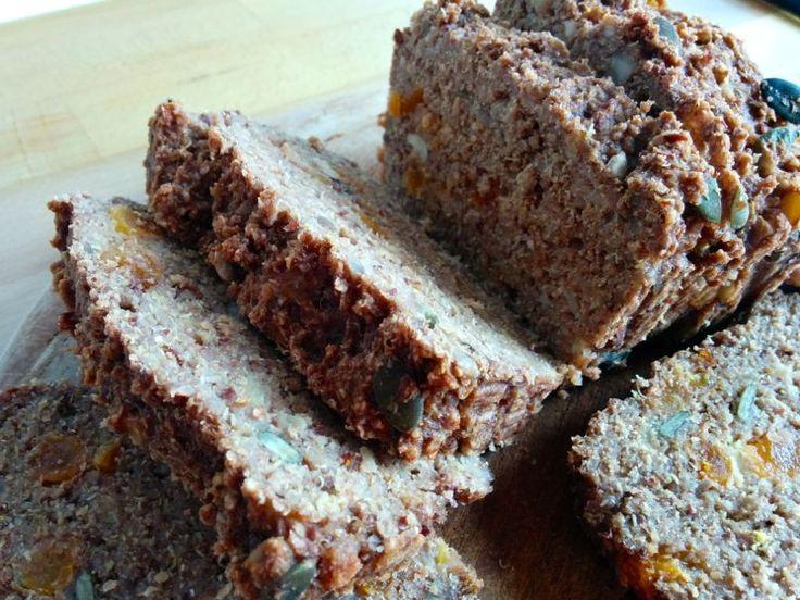 Recept voor glutenvrij quinoa bananen brood