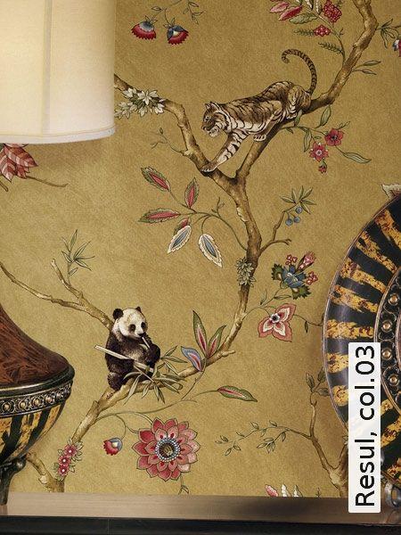 104 best Tapeten images on Pinterest Wall papers, Paint and - goldene tapete modern design