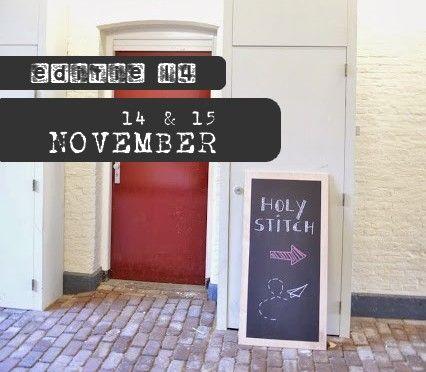 Holy Stitch halfjaarlijks markt in oude gevangenis Leeuwarden!