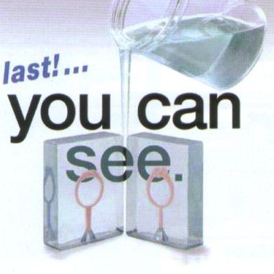 カスタルドのリクアグラス(液体タイプ)で透明タイプの型取りシリコンです
