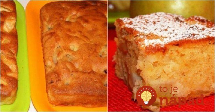 Stačí zmiešať a naliať do formy: Bavorský jablkový koláč je kráľom jesenných dezertov!