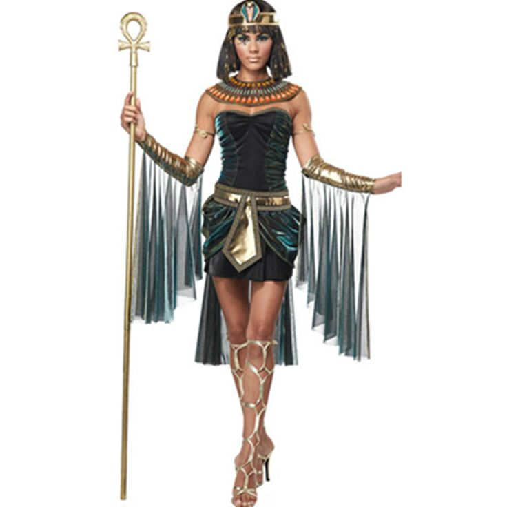 Cheap costume, directly from China  Sexy Deluxe Ladies Fancy Cleopatra Egypt