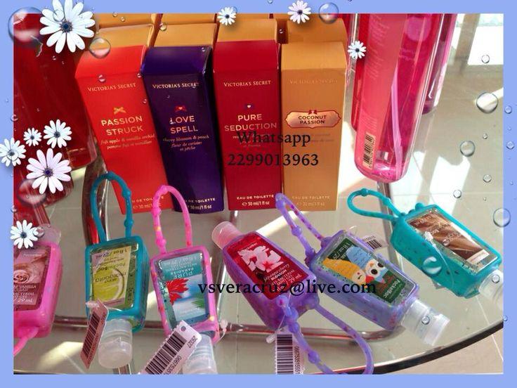 Perfume victoria Secret y gel anti bacterial